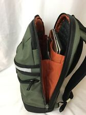 Tumi Brady Compact Laptop Case Brief Back Pack Carryon Luggage Bag Spruce Green