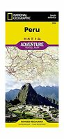 Peru (national Geographic Adventure Map) Free Shipping