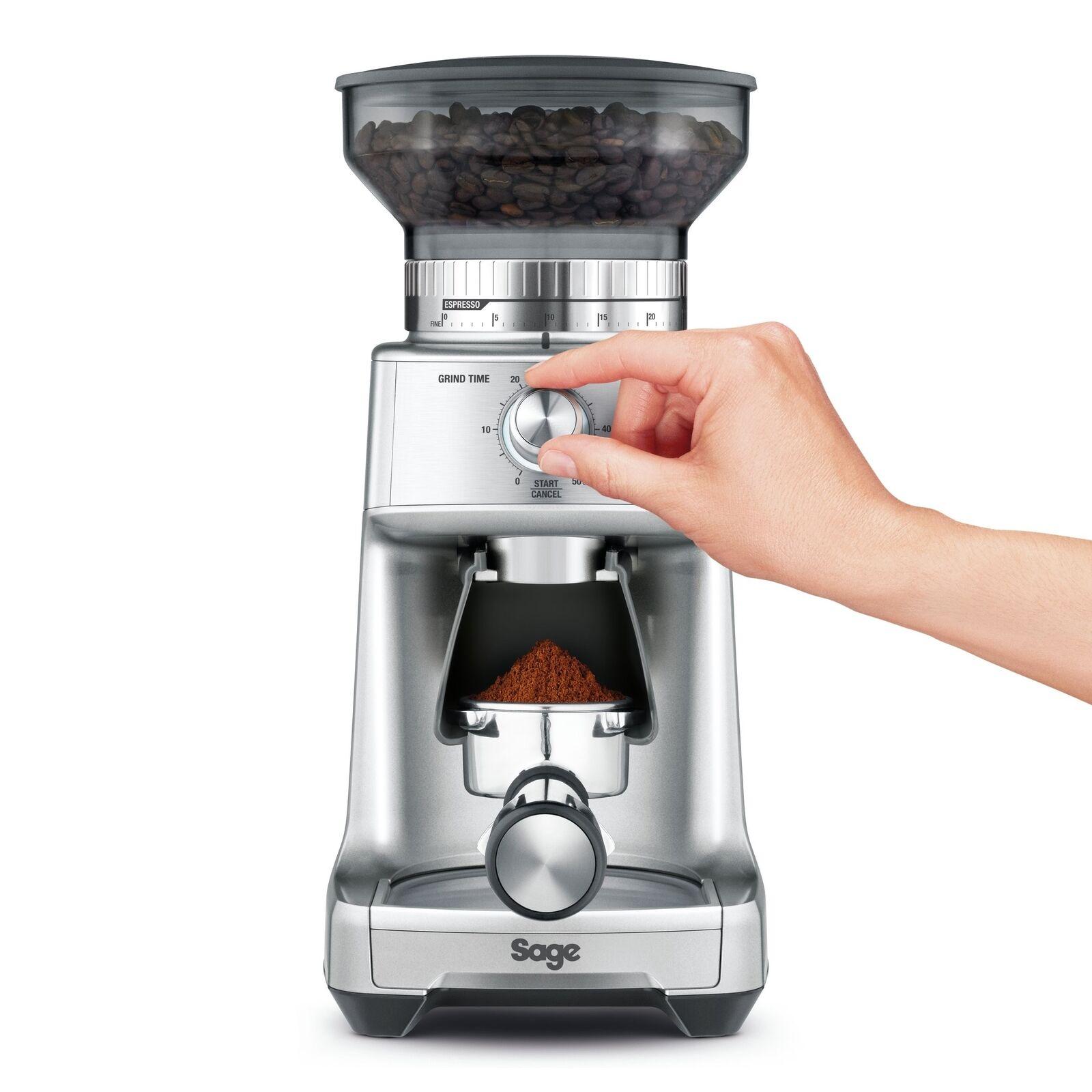 SAGE par Heston bleumenthal BCG600SIL la dose Control Pro Moulin à café-Sil...