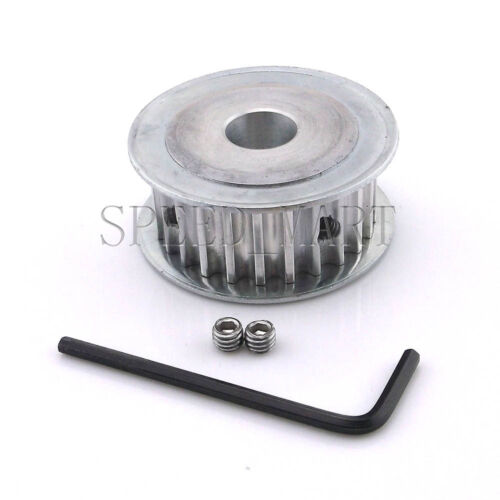 "5M HTD5M Timing Belt Pulley 25 Teeth 12.7mm 1//2/"" Bore 16mm width Stepper Motor"