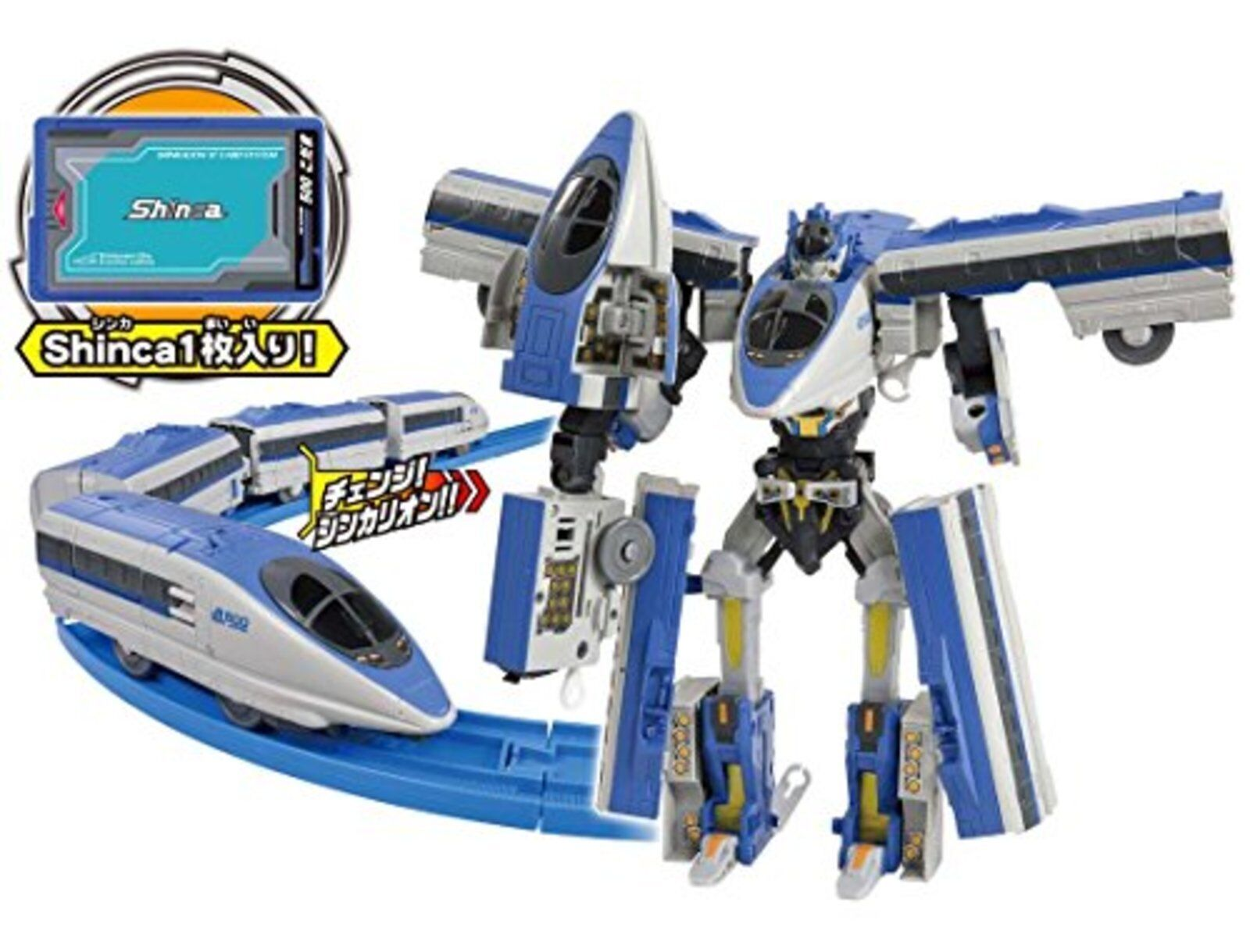 Pla-Rail Shinkansen Deformation Robot Shinkalion Dxs09 500 Kodama F S W