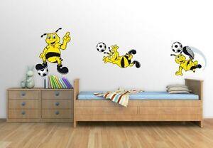 Details Zu Wandtattoo Bvb Borussia Dortmund Emma Set Fussball Fan Bundesliga Maskottchen