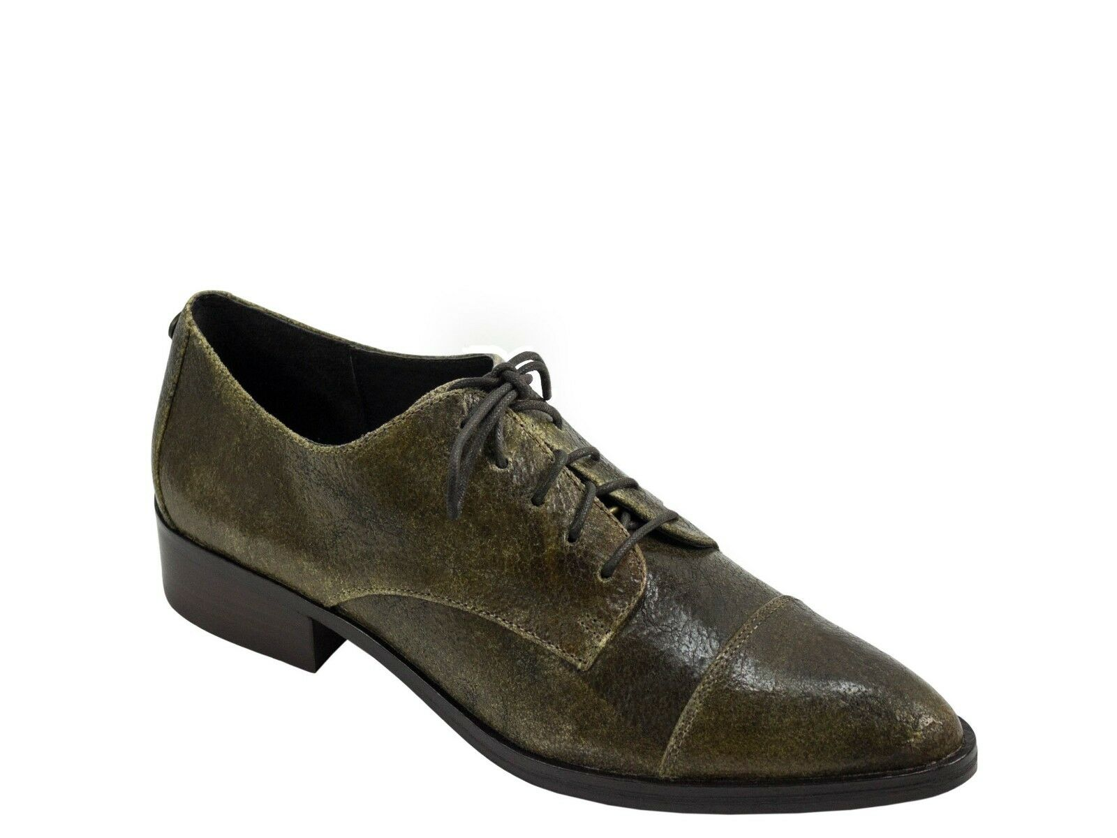 Donald Donald Donald J Pliner Gea Gea Pliner Pelle Olive Lace Up Pointed Cap Toe   f09df1
