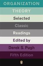 Organization Theory 5e by Derek S. Pugh