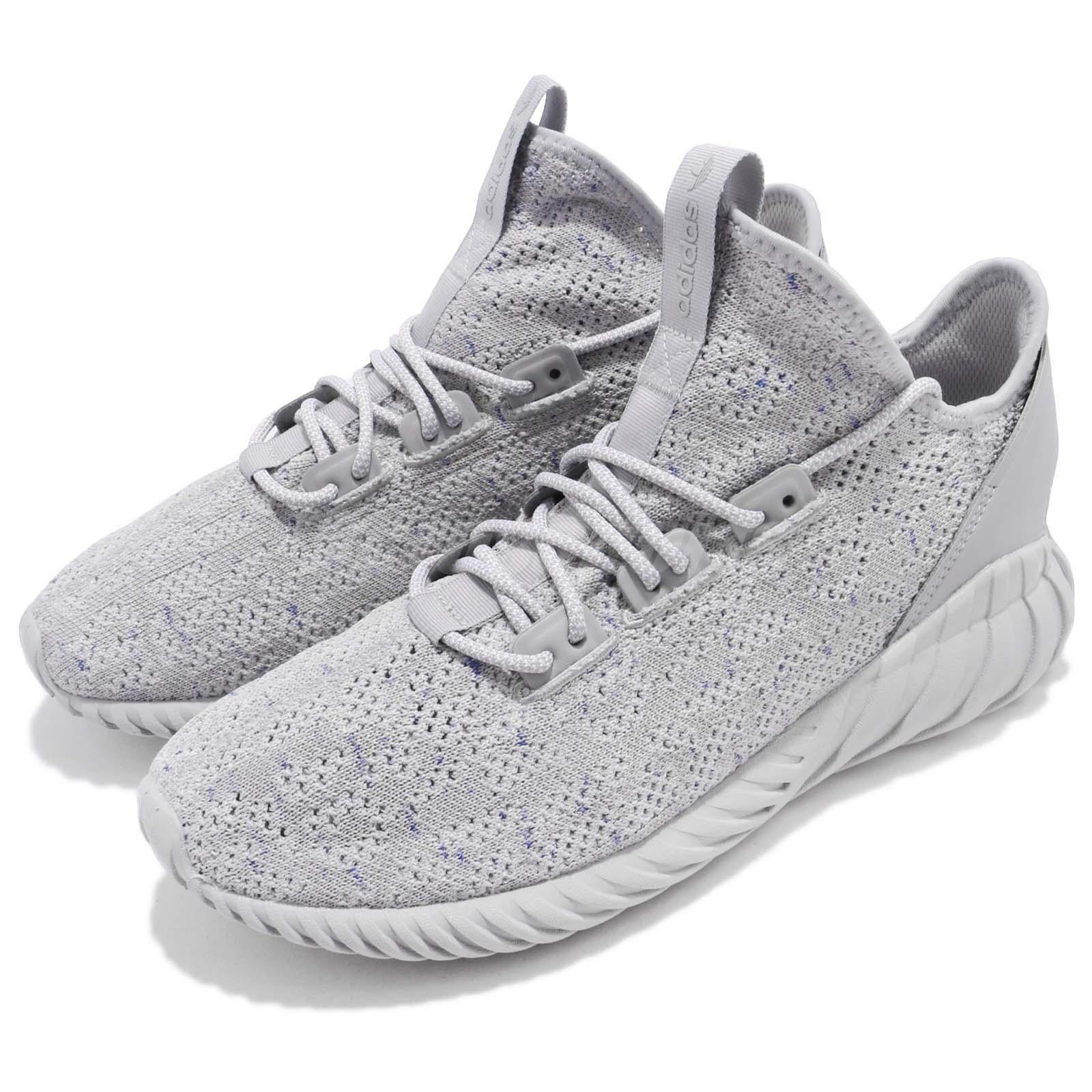 Adidas Adidas Adidas Originals Tubular Doom Sock PK Primeknit Grey Men Running shoes CG5512 866e2f