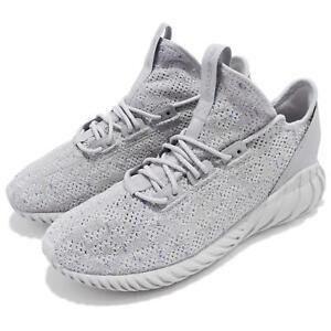 brand new cb550 ef14f Image is loading adidas-Originals-Tubular-Doom-Sock-PK-Primeknit-Grey-