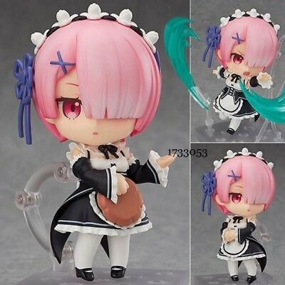 Anime Re:Life In A Different World From Zero Ram PVC Figure Figurine Toy NO BOX