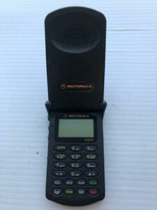 Motorola StarTAC SWF0342C Black Flip Phone Vintage - ASIS
