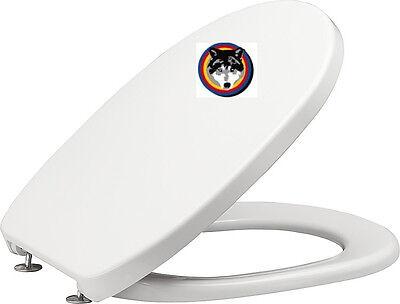 WC Sitz Softclose oder Edelstahlscharnier pergamon,manhattan,bahamabeige,weiss