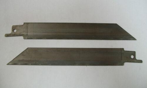 "6/"" 24TPI Reciprocating Blade UNPAINTED Bi-Metal 25 Blades"