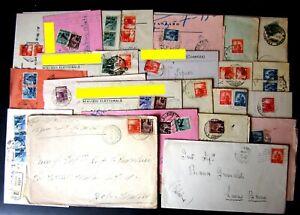 Repubblica-Storia-Postale-Democratica-Lotto-da-80-buste-del-settore-6