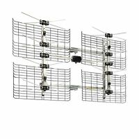 High Gain Bowtie Indoor/outdoor Hdtv Antenna - 60 Mile Range Free Shipping