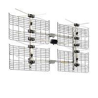 High Gain Bowtie Indoor/outdoor Hdtv Antenna - 60 Mile Range Free Shipping