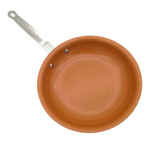 8-10-12-Inch-Non-Stick-Copper-Frying-Pan-Universal-For-Gas-amp-Induction-Cooker