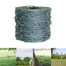 Farmgard Durable Barbed Wire Fencing 1320 Ft 15 12 Gauge 4 Point High Tensile