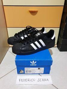 2 Adidas Eur Superstar 9 42 3 Scarpe NoirBlanc Us 2 WxoQderCB