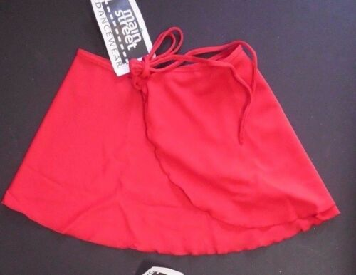 NWT Classic Dance Ballet Wrap Skirt Crepe 13 Colors Choices Adult Child opaque