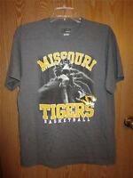 Missouri Tigers Mizzou Adult Mens Large (l) Majestic Basketball T-shirt