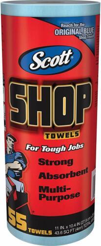 Utility Shop Garage DIY Towel for Automotive Maintenance 55 Cleaning Towels Blue