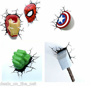 Marvel wall lights uk