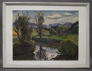 Ruth-Dolmetsch-1918-2000-Stuttgart-Wuermlandschaft-mit-Riemenhuette-D116