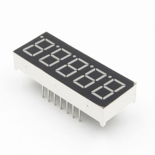 0.36 inch 5 digit led display 7 seg segment Common Cathode blau