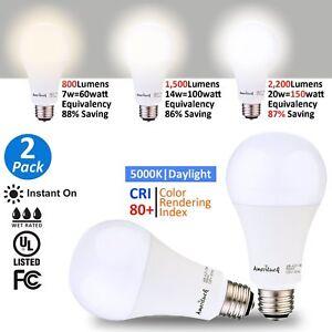 Image Is Loading Ameriluck 3 Way Led Light Bulb 50 100