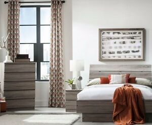 3-Piece-Truffle-Brown-Queen-Size-Platform-Bed-Bedroom-Furniture-Collection-Set