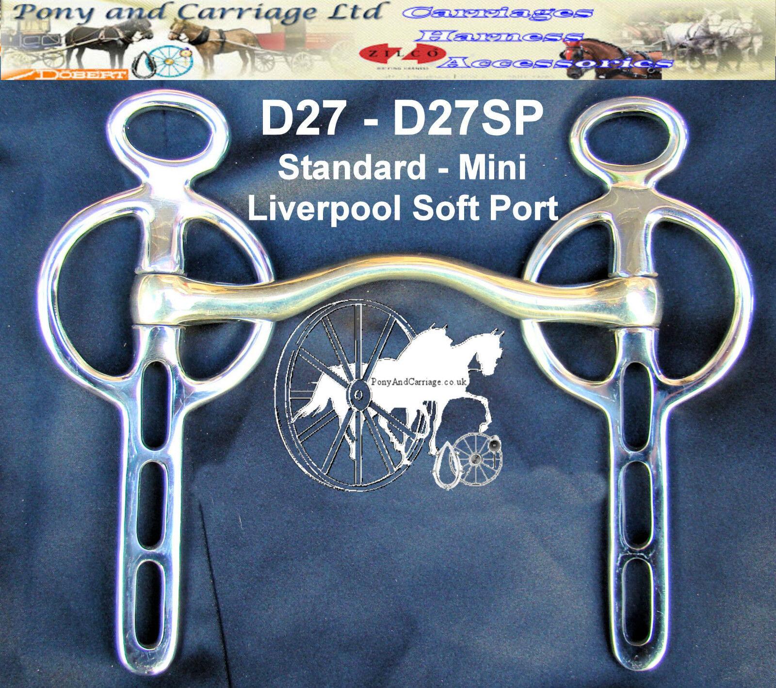 Liverpool Suave Puerto transporte conducción poco Miniatura-Caballo Grande Tamaños  Estilo D27  toma