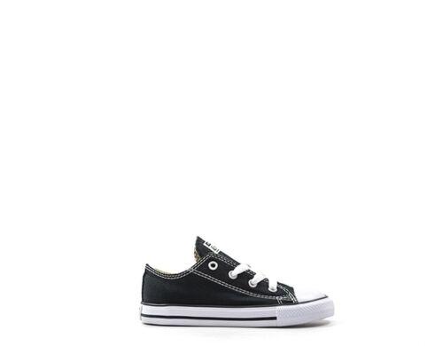 Sneakers 7j235 Bambini Scarpe Nero Tessuto Converse HExqg