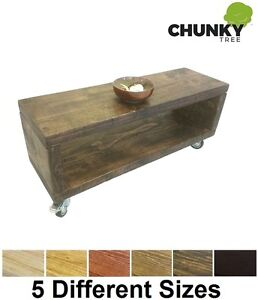 COFFEE-TABLE-BEDSIDE-TABLE-12X2-SIDE-CABINET-RUSTIC-SOLID-PINE-CUBE