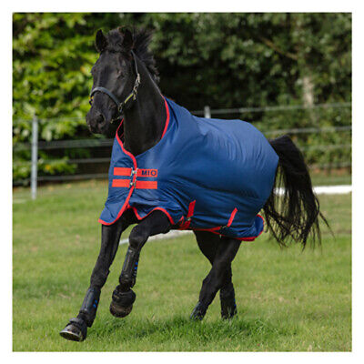 /%/% HORSEWARE Amigo Mio lite 600Denier Regendecke Outdoordecke  navy-red /%/%