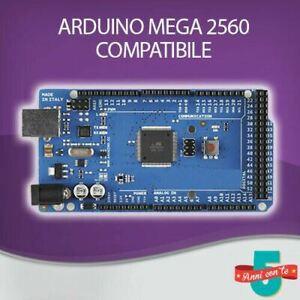 SCHEDA ARDUINO MEGA ATMEGA 2560 R3 100% COMPATIBLE CON QUALSIASI SHIELD