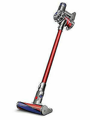 Dyson V6 Absolute Nickle Red Cordless Stick Vacuum Cleaner For Sale Online Ebay
