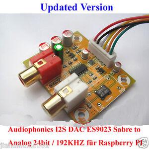 Audiophonics-I2S-DAC-ES9023-Sabre-to-Analog-24bit-192KHZ-fuer-Raspberry-PI
