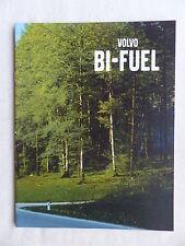 Volvo Bi-Fuel-Motoren - V70 S80 - Prospekt Brochure 10.2000