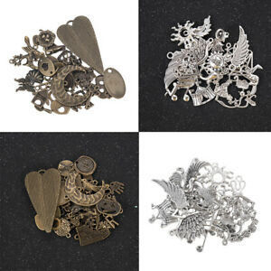 Mixed-Styles-50g-Pack-Vintage-Metal-Charms-Pendant-For-DIY-Jewelry-Making-Crafts