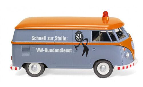 """#079727 1:87 Wiking VW T1 Kastenwagen /"""" VW Kundendienst/"""""""