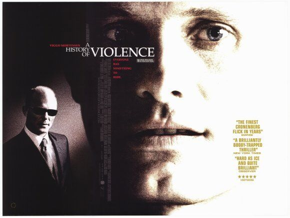 A HISTORY OF VIOLENCE Movie POSTER 30x40 Viggo Mortensen Maria ...