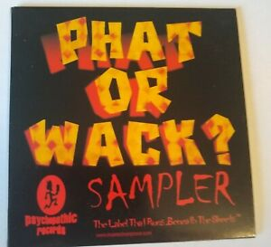 ICP-Insane-Clown-Posse-amp-Twiztid-Phat-Or-Wack-Sampler-CD-Psychopathic-Records