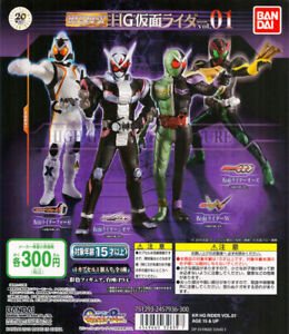 Bandai-HG-Kamen-Rider-Vol-1-Figure-Gashapon-ZI-O-Fourze-OOO-W-Double-Set-of-4pcs