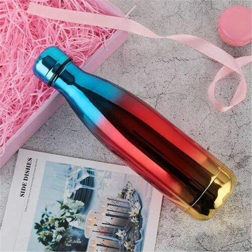 0.35-1L Edelstahl Trinkflasche Isolierflasche Wasserflasche Thermosflasch Bürste