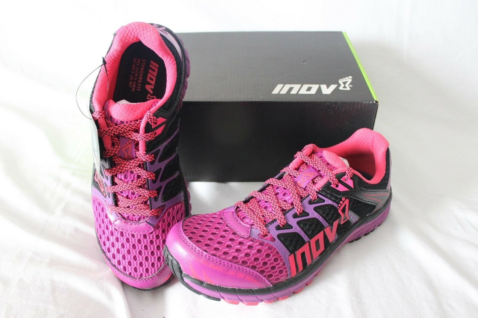 New Women's Inov-8 Roadclaw 275 Running shoes US 7 Pink  Training