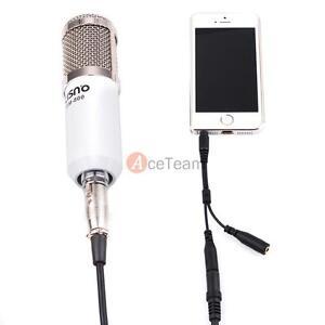audio condenser microphone mic studio recording w shock. Black Bedroom Furniture Sets. Home Design Ideas