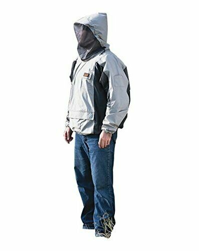 Bushline Outdoor Bug Blocker Premium Pullover Jacket Sizes S-XXL