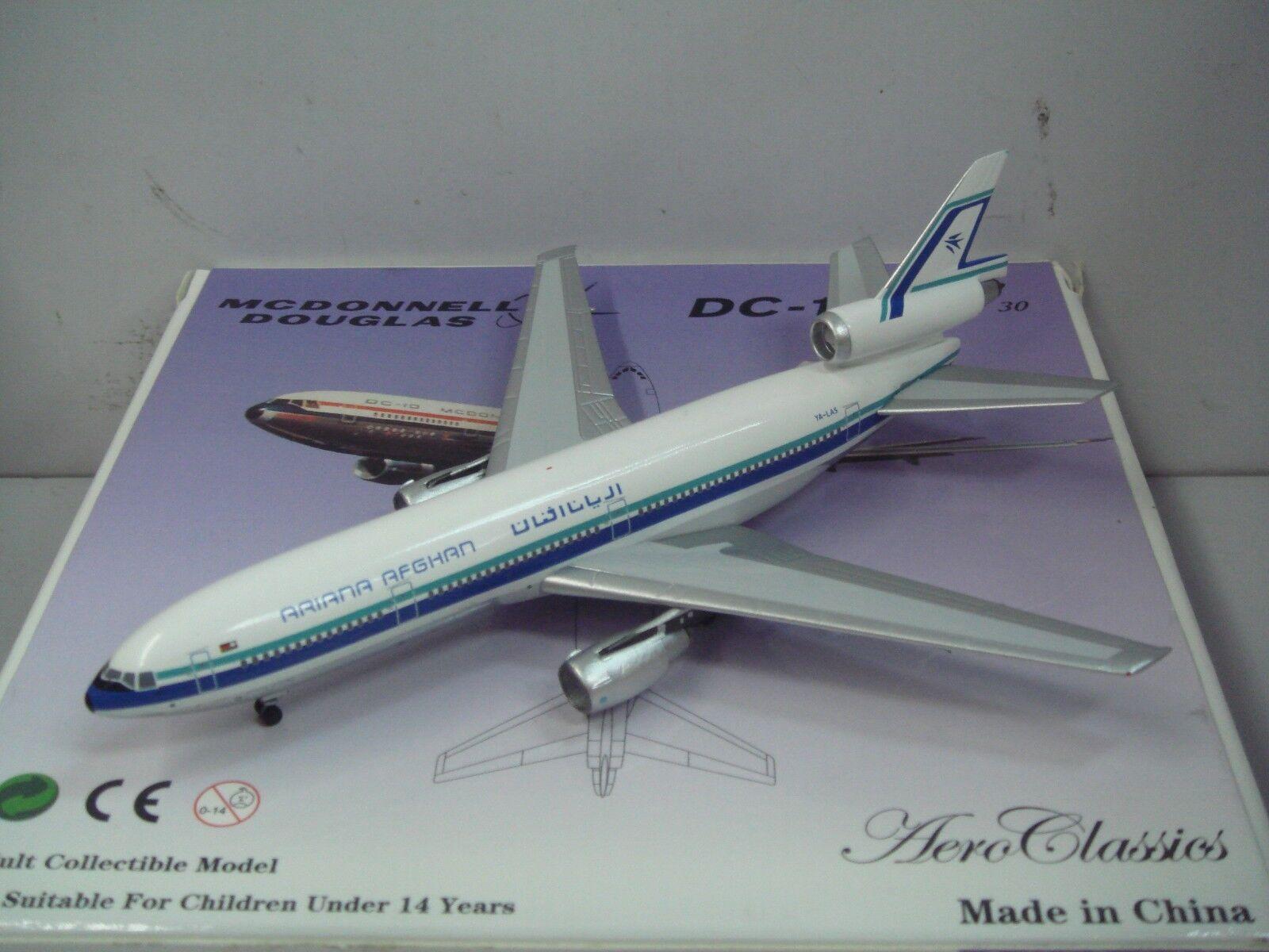 Aeroclassics 400 Ariana Afghan Airlines DC-10-30  1980s Coloreee  1 400