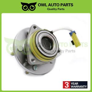 For-Chevy-Impala-Buick-Cadillac-5-Lug-W-ABS-Front-Wheel-Hub-Bearing-Assembly