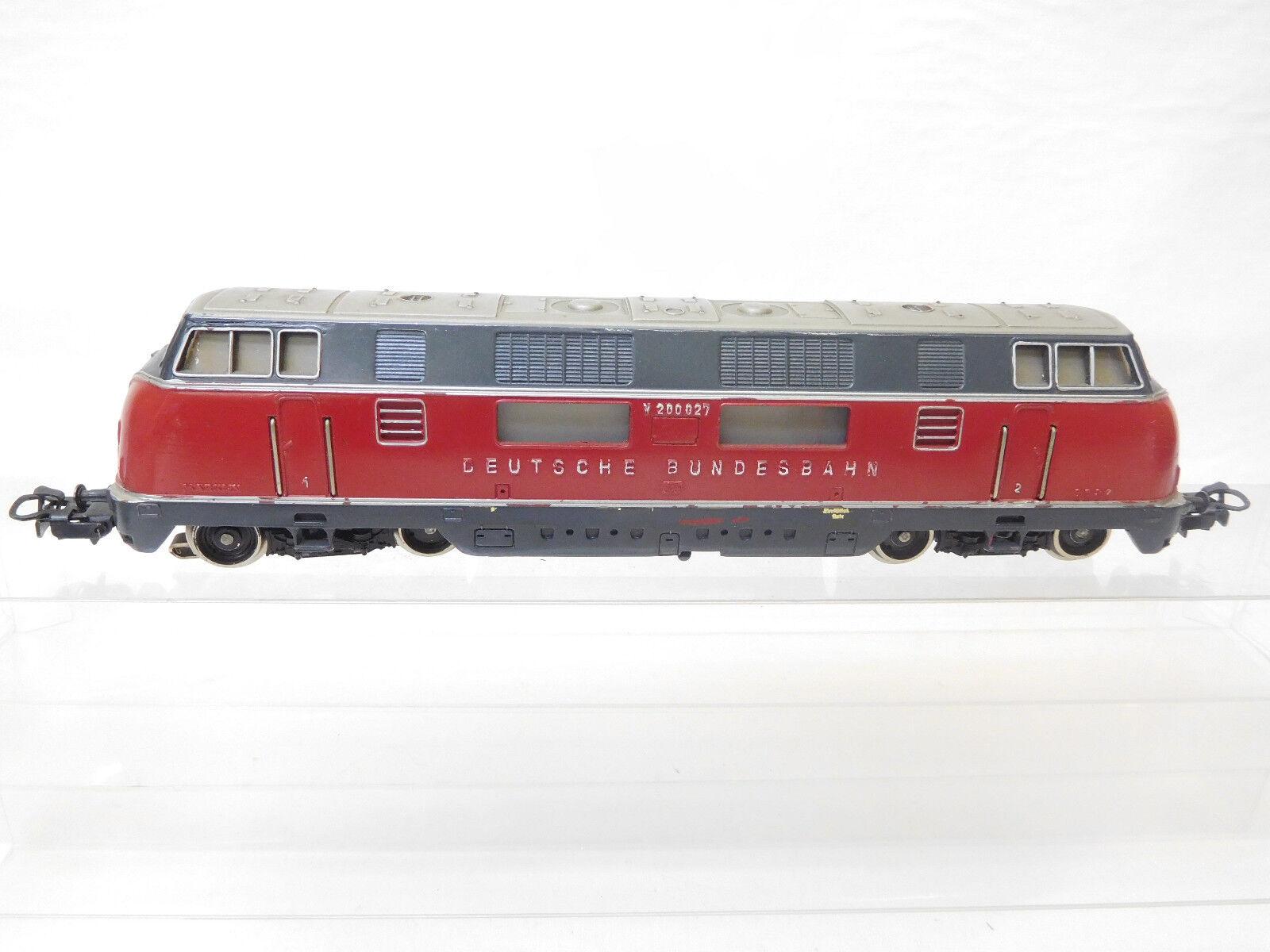Mes-53741 Märklin h0 Diesellok DB v200 027 with slight wear