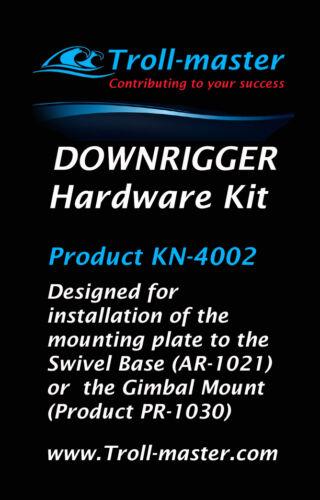 Downrigger Mounting Hardware Kit for PENN Fathom-Master Base NEW by Troll-Master