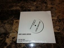 """Moby & Mark Lanegan RARE Limited Edition 7"""" Record Store Day Vinyl 500 Made 45"""